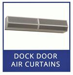 Plastic Strip Curtains For Dock Doors and Mars Air Curtain- PVC Strip Curtains and Air Doors For Large Dock Doors.